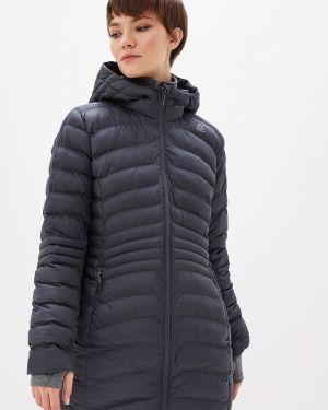 Утепленная куртка осенняя серая Reebok