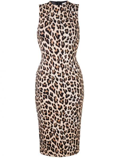 Приталенное прямое платье на молнии без рукавов Alice+olivia