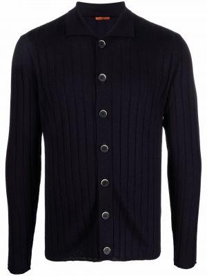 Niebieski sweter wełniany Barena