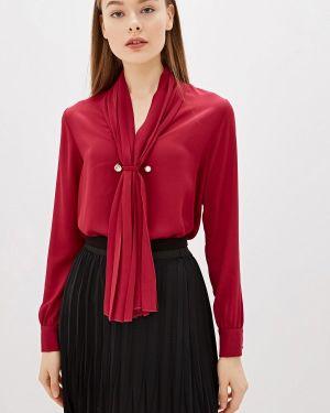 Блузка с длинным рукавом бордовый красная Camomilla Italia