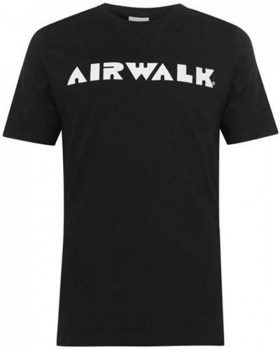 Футболка - черная Airwalk