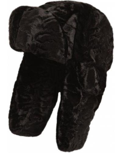 Czarny czapka z nausznikami Ruslan Baginskiy