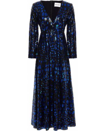 Czarna sukienka z cekinami Antik Batik