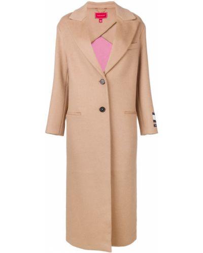 Однобортное длинное пальто с капюшоном на пуговицах Hilfiger Collection