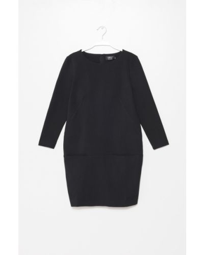 Платье мини из вискозы с карманами Simple