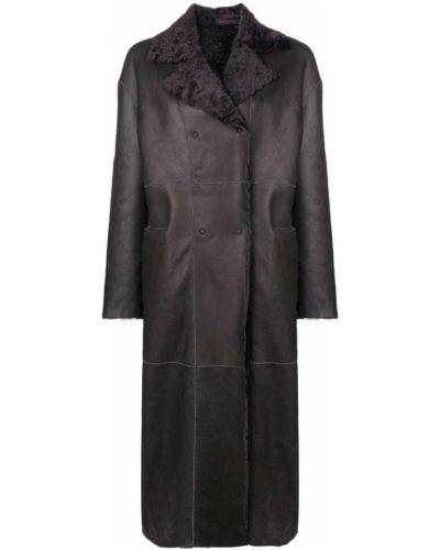 Длинное пальто с капюшоном на пуговицах S.w.o.r.d 6.6.44