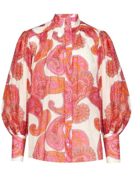 Блузка на пуговицах Zimmermann