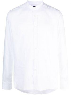 Biała koszula z długimi rękawami Mp Massimo Piombo