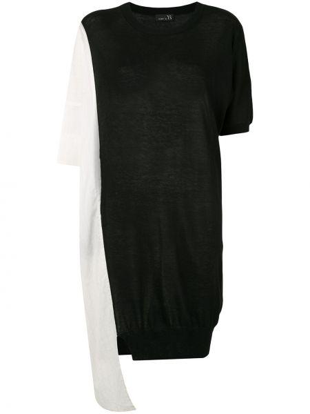 Платье миди футболка с рукавами Y`s