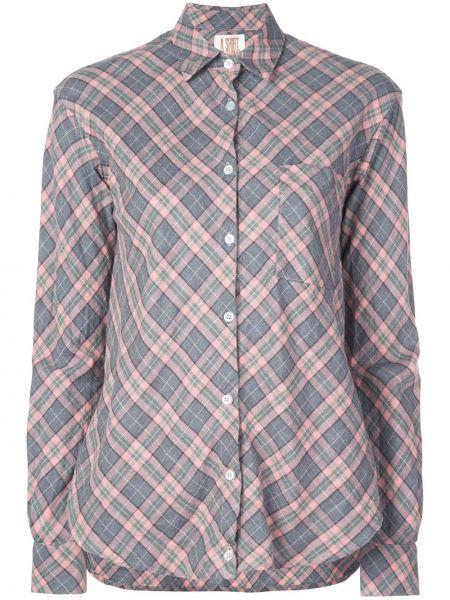 Классическая свободная классическая рубашка с воротником с карманами A Shirt Thing