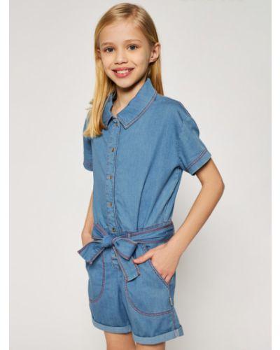 Niebieski kombinezon Little Marc Jacobs