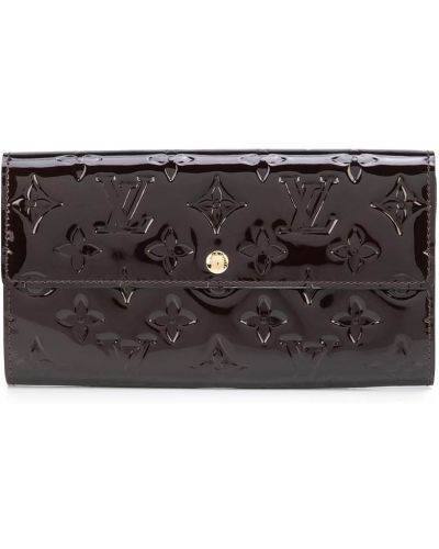Czarny złoty portfel Louis Vuitton