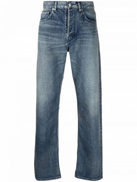 Klasyczne niebieskie jeansy z paskiem Ambush