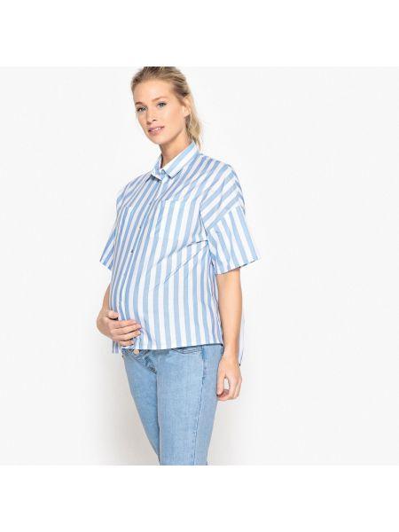 Топ в полоску для беременных La Redoute Collections