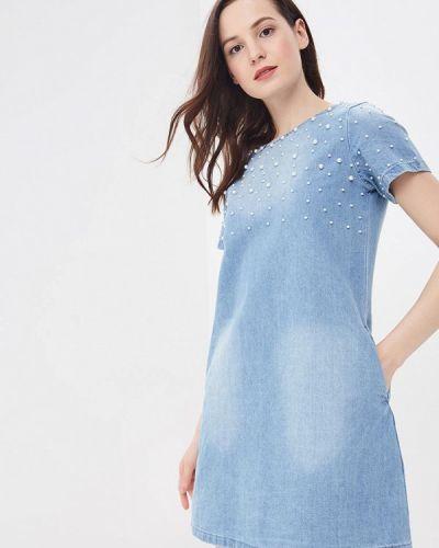 Джинсовое платье весеннее Modis
