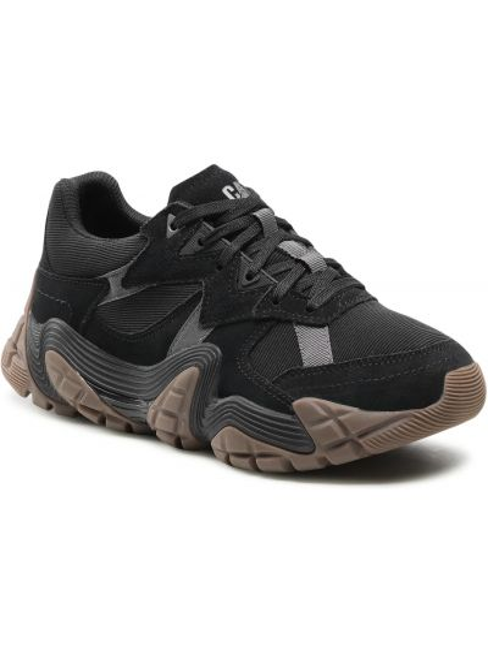 Buty sportowe skorzane - czarne Caterpillar