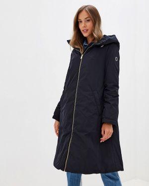 Теплая синяя утепленная куртка Madzerini