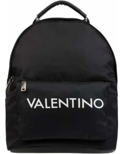 Czarny plecak na rzepy Valentino Bags