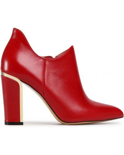 Туфли - красные R.polański