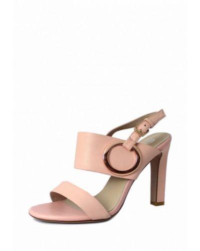 Розовые босоножки на каблуке Blizzarini