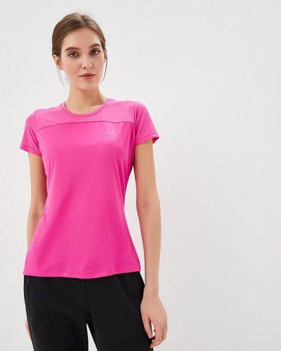 Спортивная футболка - розовая Li-ning