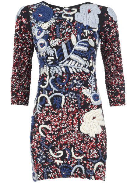 Шерстяное платье Mangano