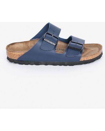 Сандалии кожаный синий Birkenstock