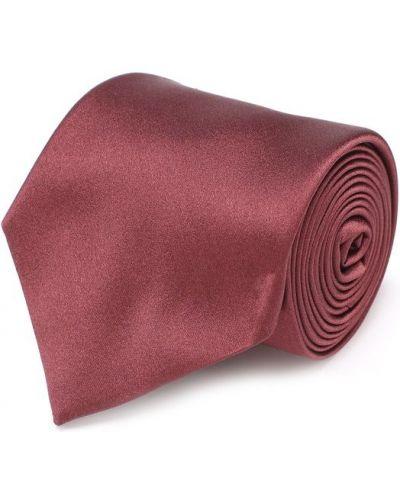 Шелковый галстук однотонный Canali