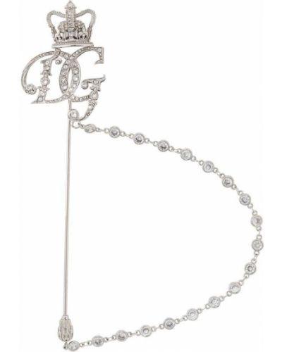 Брошь серебряный Dolce & Gabbana
