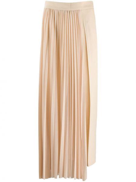 Шерстяная юбка макси Erika Cavallini