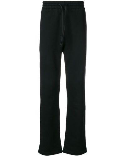 Свободные черные спортивные брюки A_plan_application