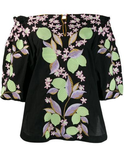 Рубашка свободного кроя - черная Yuliya Magdych