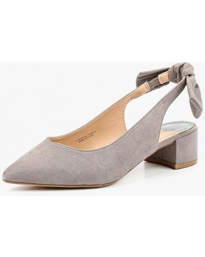 Туфли на каблуке с открытой пяткой осенние Dorothy Perkins