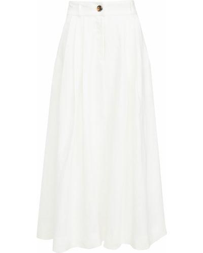 Spódnica - biała Mara Hoffman