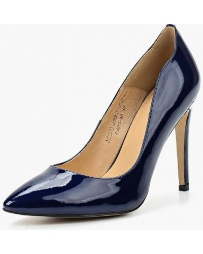 Туфли-лодочки на каблуке кожаные Provocante