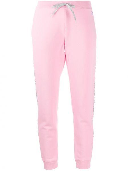 Спортивные брюки розовый с карманами Chiara Ferragni