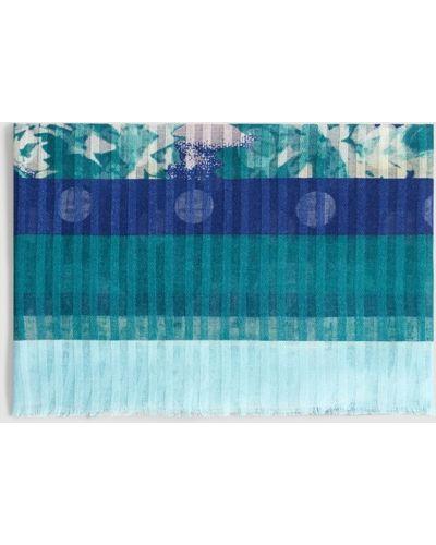 Синий шарф Mango