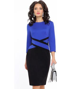 Деловое платье платье-сарафан для офиса Dstrend