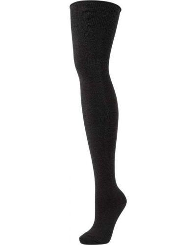 Bawełna bawełna czarny podkolanówki Esprit