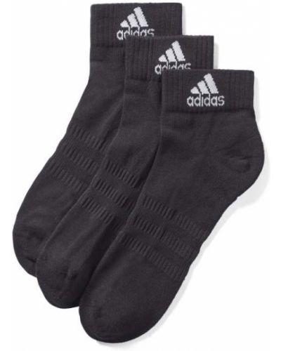 Czarne skarpety bawełniane Adidas Performance