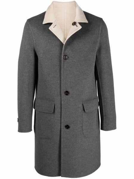 Кашемировое пальто - серое Brunello Cucinelli