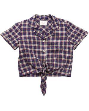 Рубашка с принтом короткий Les Coyotes De Paris