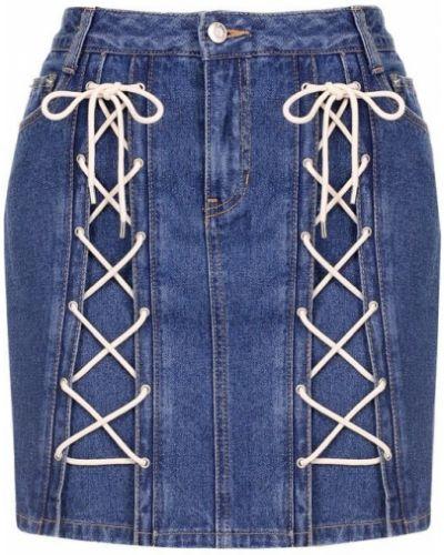 Юбка мини джинсовая Steve J & Yoni P