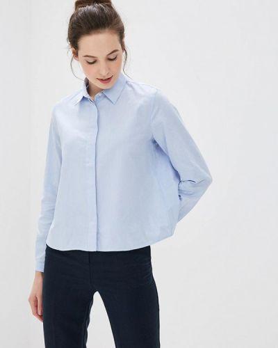 Голубая рубашка с длинным рукавом Tommy Hilfiger