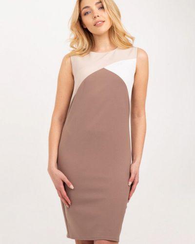Платье весеннее бежевое Bessa