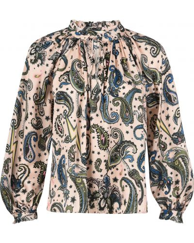 Блузка из вискозы Zadig & Voltaire