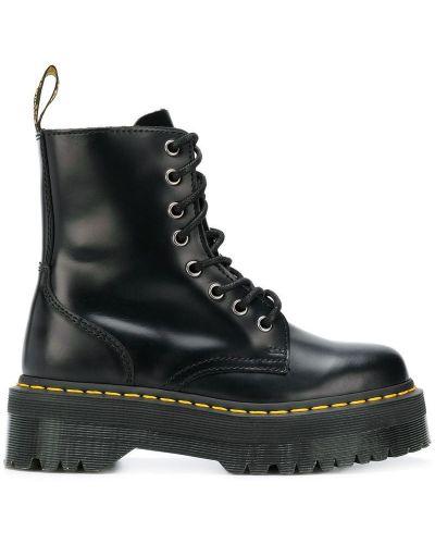 Ботинки на платформе черные черные Dr. Martens