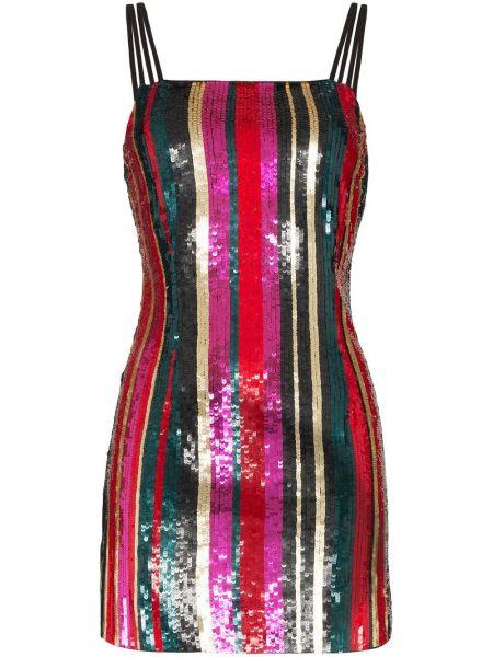 Тонкое платье мини с пайетками на бретелях без рукавов Haney