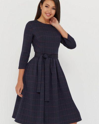Повседневное синее платье A.karina