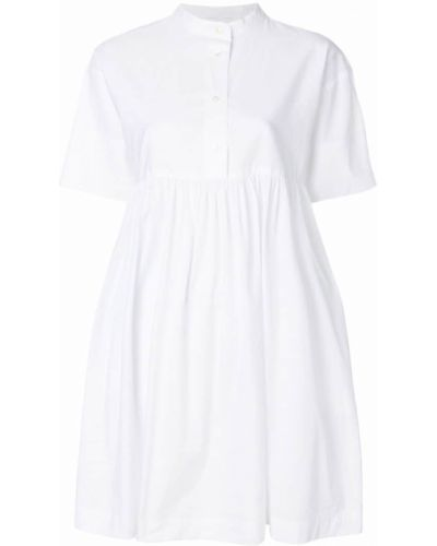 Белое платье рубашка Woolrich